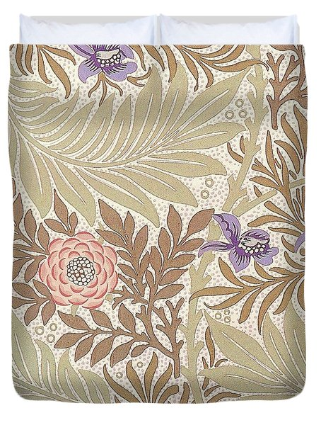 Larkspur Design Duvet Cover by William Morris