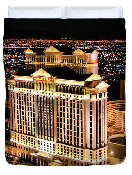 Las Vegas Duvet Cover by Kristin Elmquist