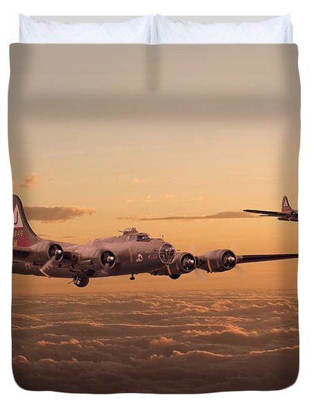 Last Home Duvet Cover by Pat Speirs