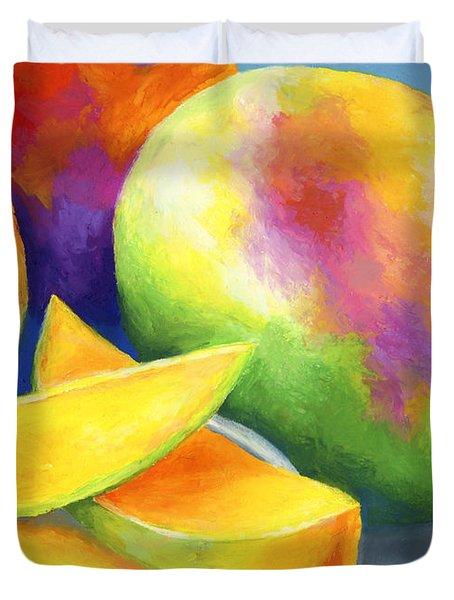 Last Mango In Paris Duvet Cover by Stephen Anderson
