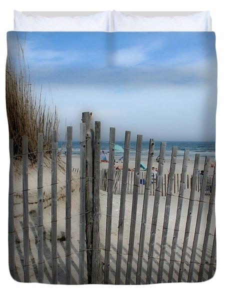 Last Summer Duvet Cover by Linda Sannuti