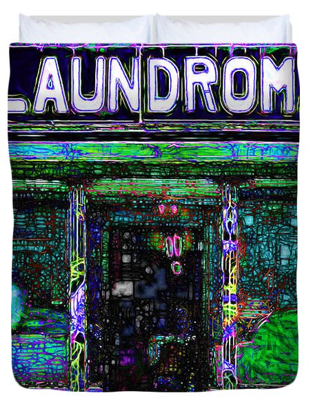 Laundromat 20130731m108 Duvet Cover by Wingsdomain Art and Photography
