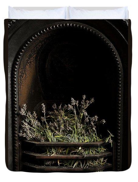 Lavender Fire Duvet Cover by Anne Gilbert