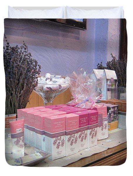 Lavender Museum Shop 2 Duvet Cover by Pema Hou