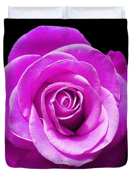 Lavender Rose Duvet Cover by Aimee L Maher Photography and Art Visit ALMGallerydotcom