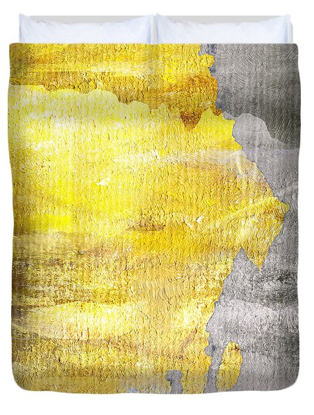 Layers Duvet Cover by Brett Pfister