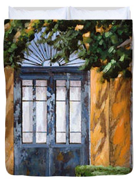 Le 5 Porte Duvet Cover by Guido Borelli