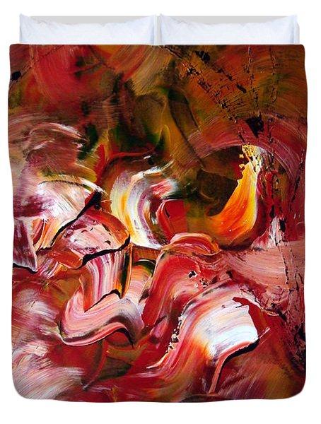 Le Jardin Extraordinaire Duvet Cover by Isabelle Vobmann