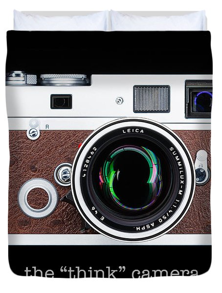 Leica M7 Duvet Cover by Dave Bowman
