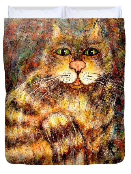 LEO Duvet Cover by Natalie Holland