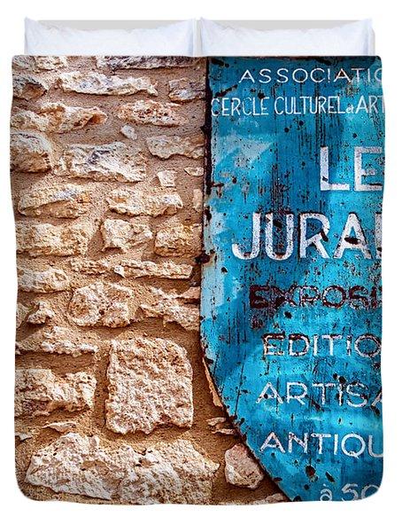 Les Jurandes Bonaguil Duvet Cover by Georgia Fowler
