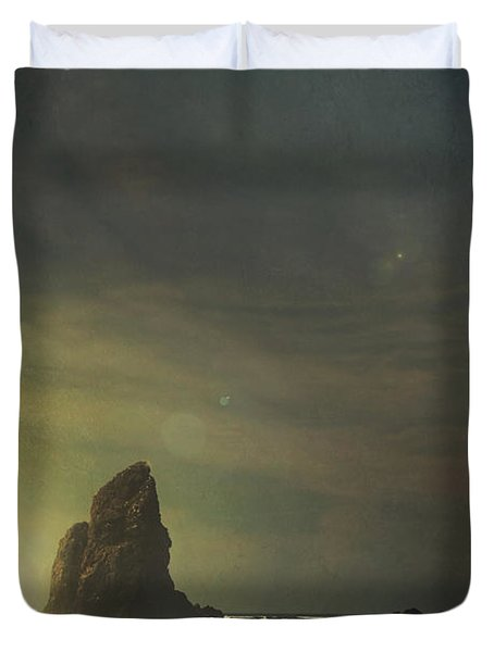 Let Love Shine Through Duvet Cover by Laurie Search