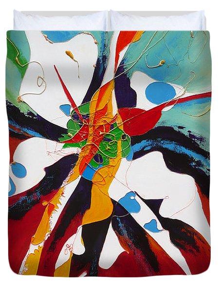Liberation Duvet Cover by Lida Bruinen