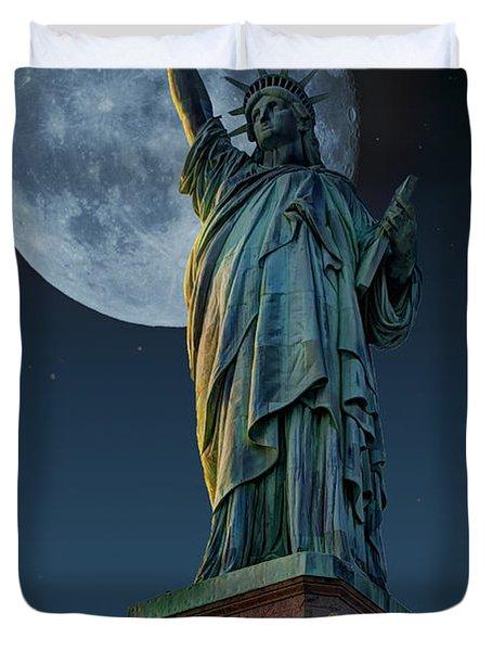 Liberty Moon Duvet Cover by Steve Purnell