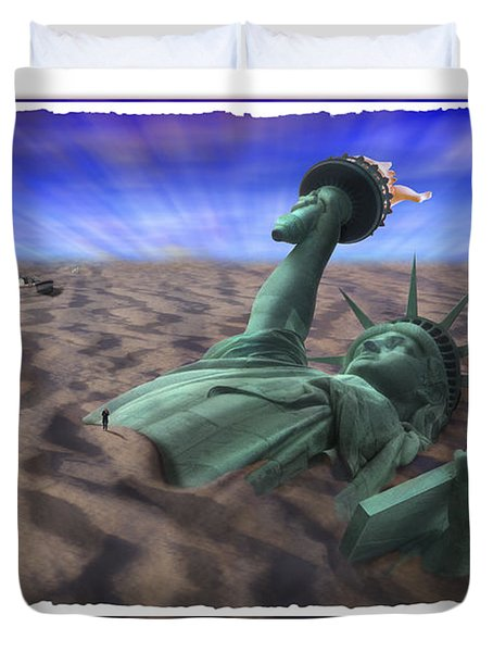 Liberty Park Duvet Cover by Mike McGlothlen
