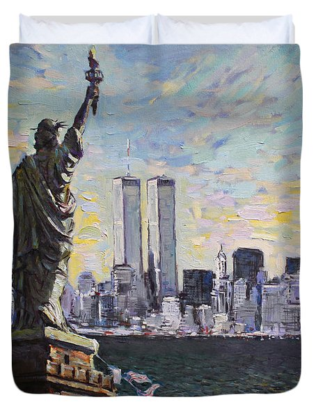 Liberty Duvet Cover by Ylli Haruni