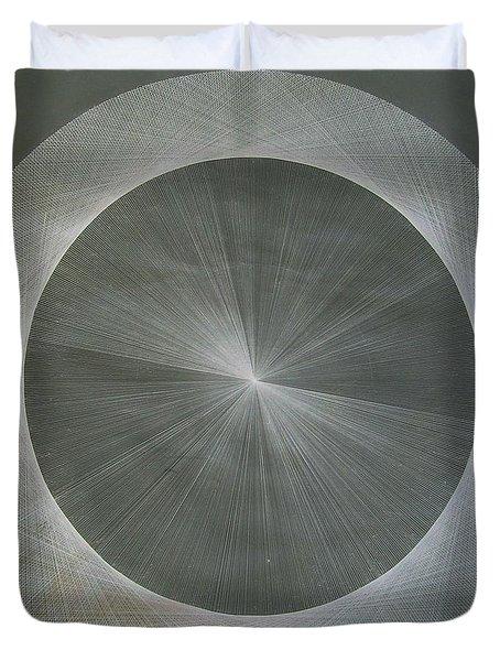 Light Is Pi  The Shape Of Pi Duvet Cover by Jason Padgett