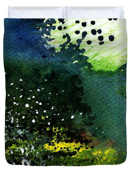 Light Music Duvet Cover by Anil Nene