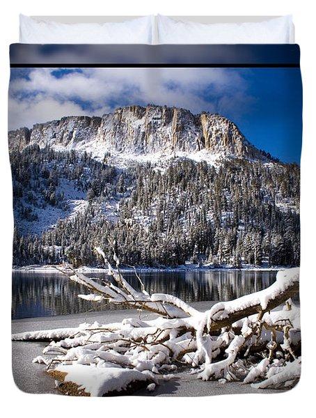 Lightly Powdered 2 Duvet Cover by Chris Brannen