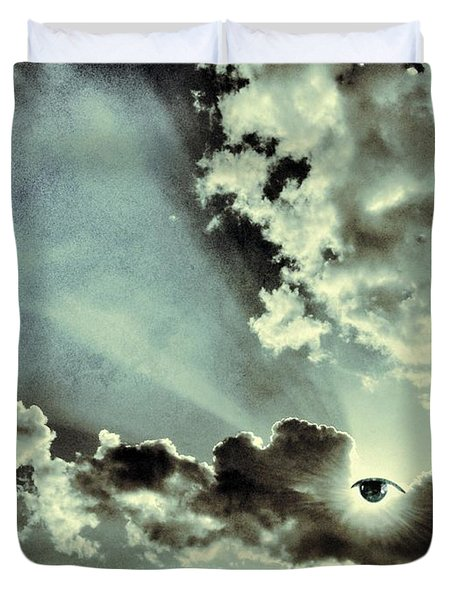 Like I Said... I Will Be Always Here For You... Duvet Cover by Marianna Mills