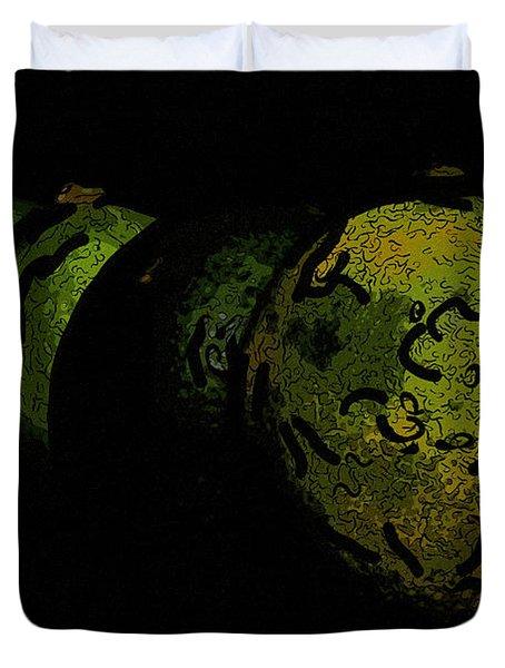 Limes Duvet Cover by Toppart Sweden