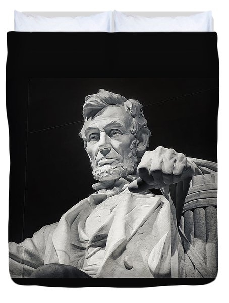 Lincoln Duvet Cover by Joan Carroll