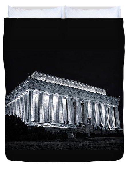 Lincoln Memorial Duvet Cover by Joan Carroll