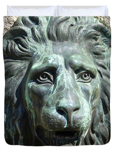 Lion King Duvet Cover by Charlie Brock