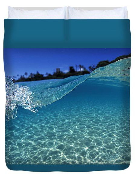 Liquid Energy Duvet Cover by Sean Davey