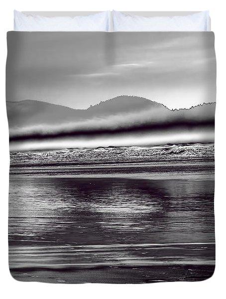 Liquid Metal Duvet Cover by Jon Burch Photography