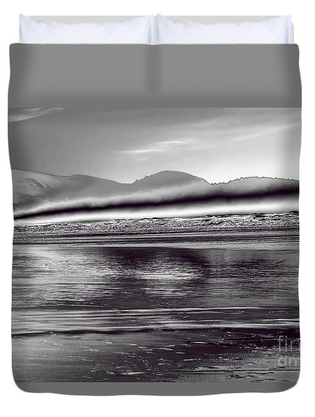 Liquid Metal Duvet Cover by Jon Burch Photography
