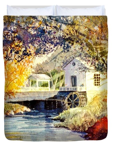 Little Mill Duvet Cover by Marilyn Smith