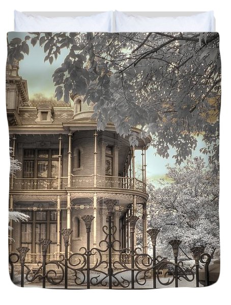 Littlefield Home Duvet Cover by Jane Linders