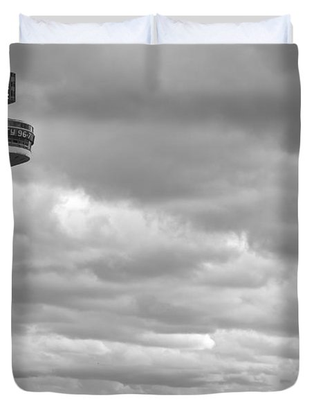 Liverpool Skyline With Radio City Tower Duvet Cover by Nomad Art And  Design