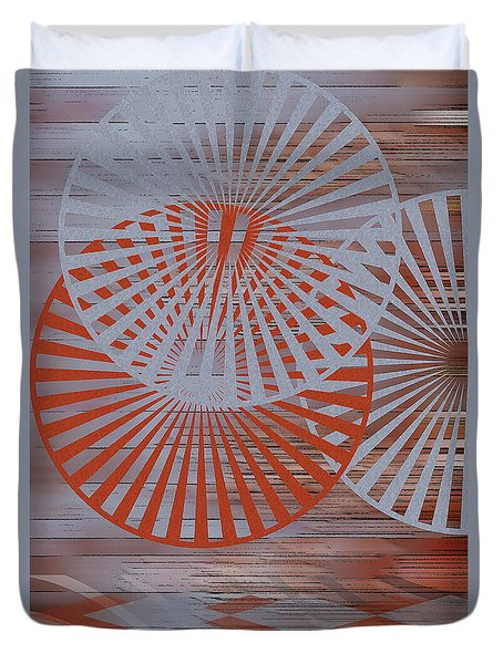 Living Spaces No 2 Duvet Cover by Ben and Raisa Gertsberg