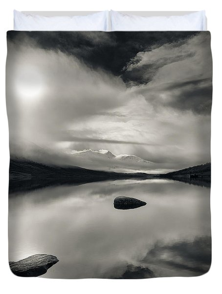 Loch Etive Duvet Cover by Dave Bowman