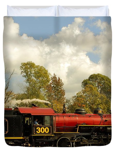Locomotion Duvet Cover by Robert Frederick