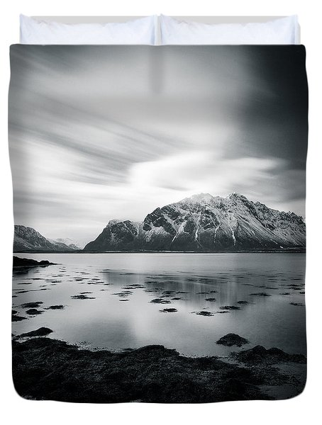 Lofoten Beauty Duvet Cover by Dave Bowman
