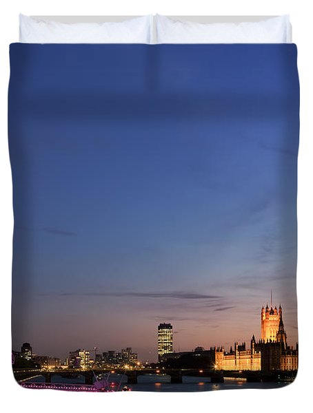 London Eye Duvet Cover by Rod McLean