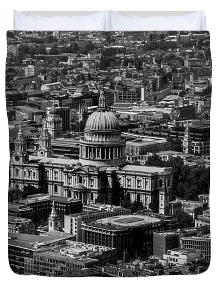 London Skyline Duvet Cover by Martin Newman