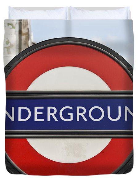 London Underground Duvet Cover by Georgia Fowler