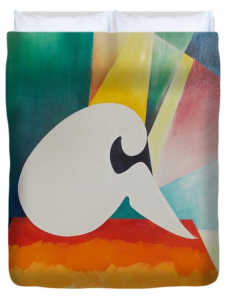 Loneliness Duvet Cover by PainterArtist FIN