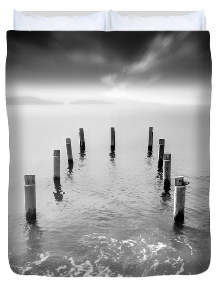 Long Silence Duvet Cover by Taylan Soyturk