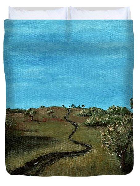 Long Trail Duvet Cover by Anastasiya Malakhova