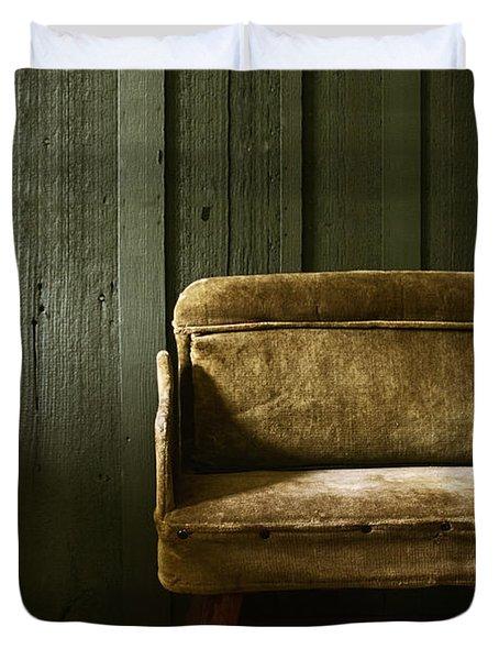 Long Wait Duvet Cover by Margie Hurwich