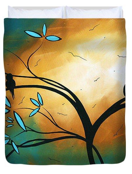 Longing By Madart Duvet Cover by Megan Duncanson