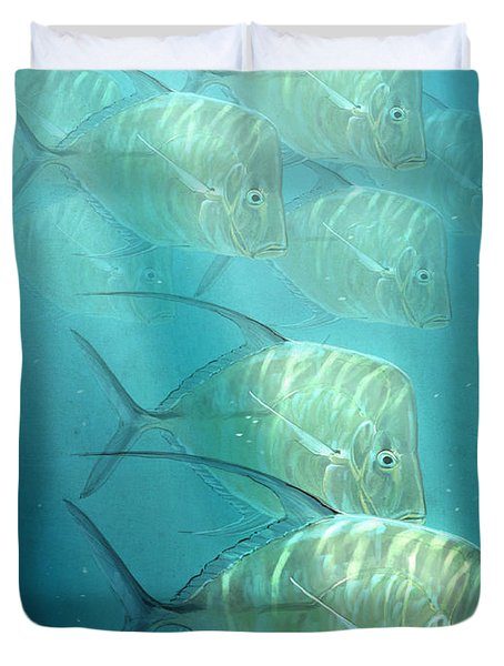 Lookdowns Duvet Cover by Aaron Blaise