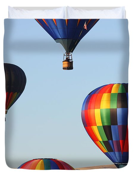 Looking Up Duvet Cover by Carol Groenen