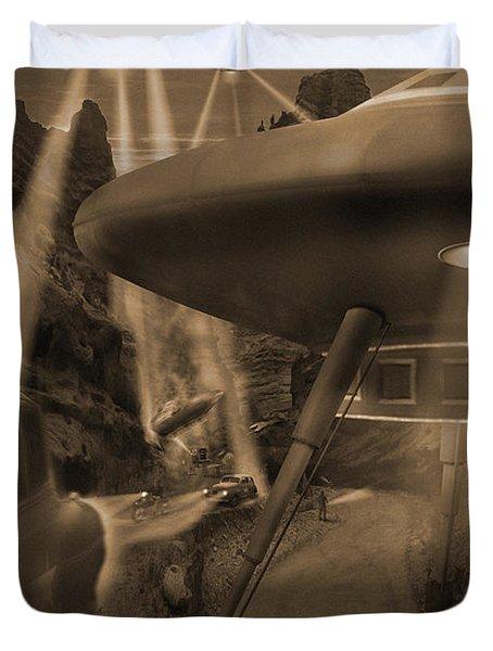 Lost Film 35 mm Duvet Cover by Mike McGlothlen