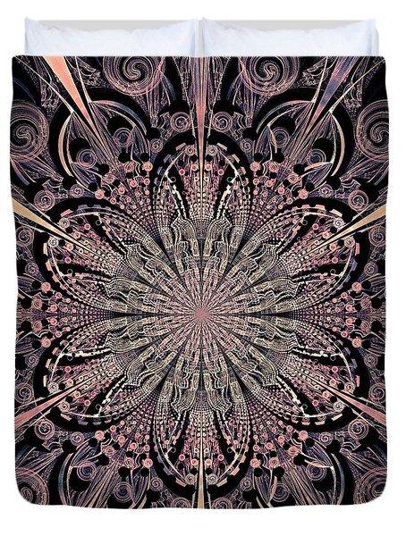 Lotus Gates Duvet Cover by Anastasiya Malakhova